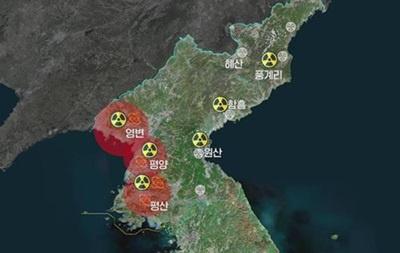Шимолий Кореяда қанча ядровий объект бор?
