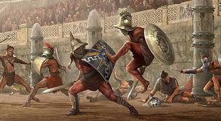 Birgina Italiya hududida 99 ta gladiatorlar janglarini uyushtiruvchi sirklar qayd etilgan.