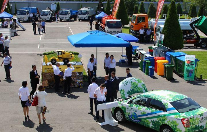 Что показывают на первой выставке зеленых технологий в Узбекистане