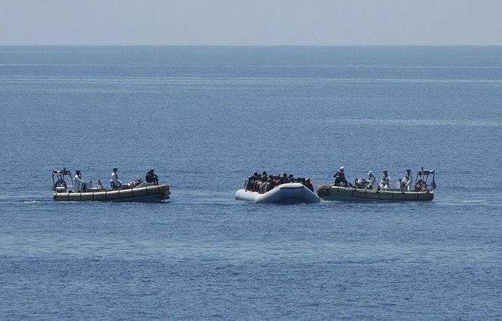 У берегов Ливии спасены 97 беженцев