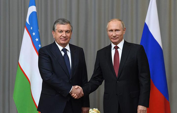 Путин Шавкат Мирзиёев таклифини қабул қилди