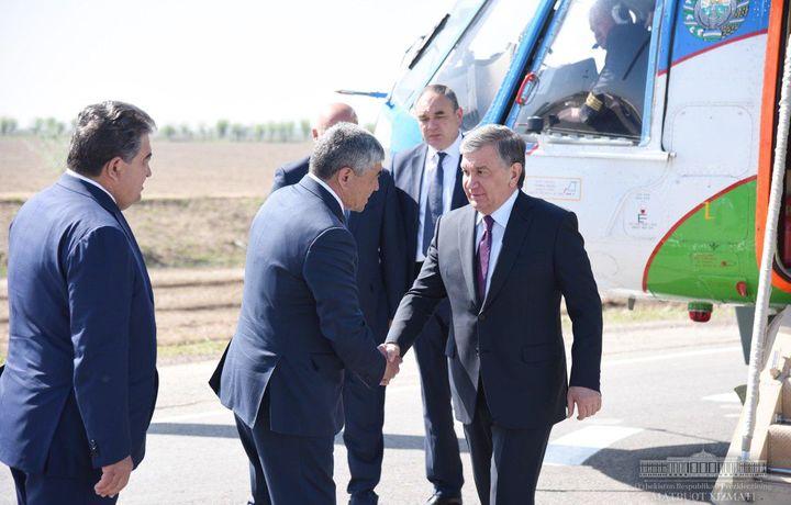 Президент Шавкат Мирзиёевнинг Сирдарё вилоятига ташрифи бошланди