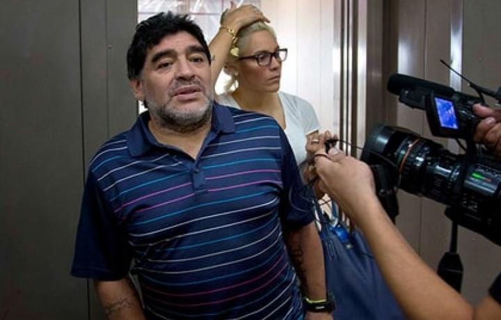 Диего Марадону выгнали из собственного дома