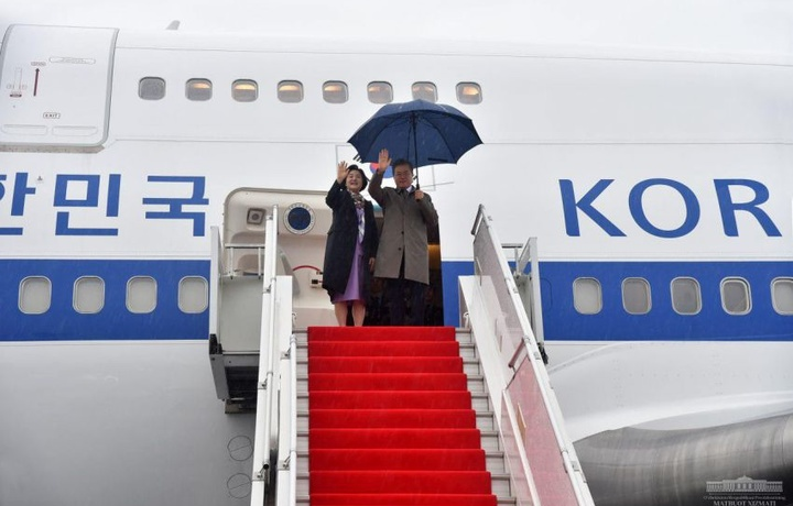 Koreya Respublikasi Prezidentining yurtimizga tashrifi yakunlandi