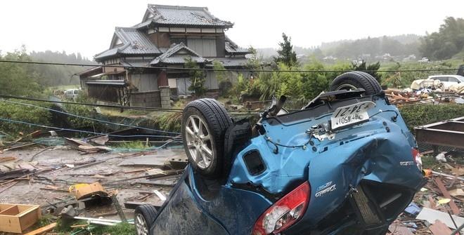 Число погибших от тайфуна в Японии выросло до 19 человек