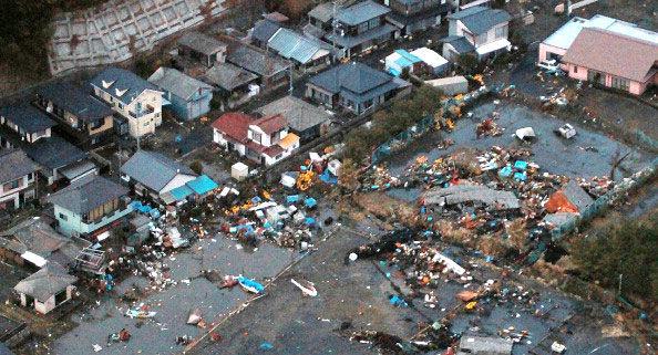 Землетрясение произошло в 100 километрах от Токио