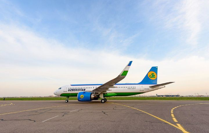 «Ўзбекистон ҳаво йўллари» «Airbus A320neo» самолётидан фойдаланишни бошлади