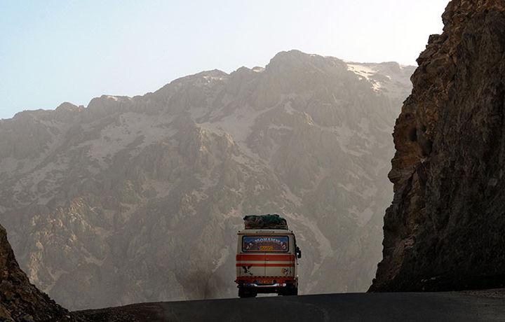 В Иране заживо сгорели пассажиры автобуса