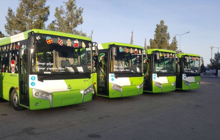 Тошкентга Самарқанддан янги автобуслар олиб келинмоқда