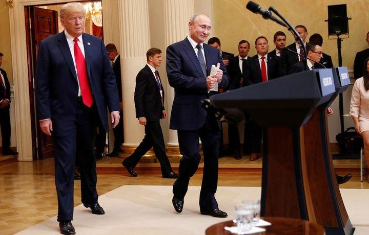 Путин ва Трамп Парижда яна учрашади
