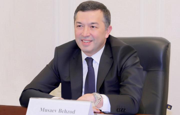 Бехзод Мусаев назначен председателем Государственного налогового комитета