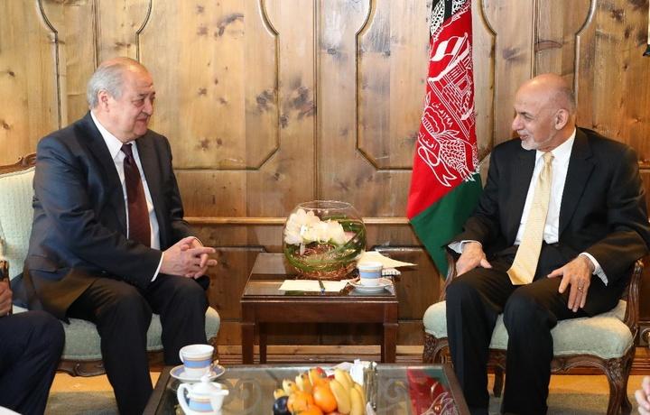 Абдулазиз Камилов встретился с президентом Афганистана Ашрафом Гани