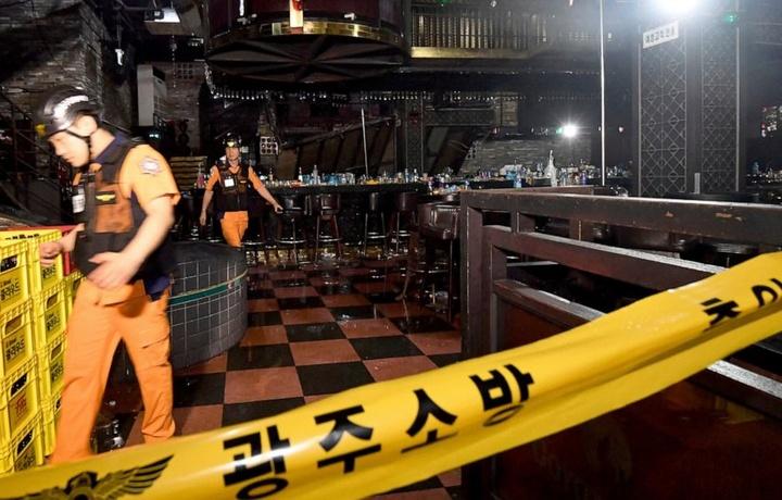 МИД: Среди пострадавших при обрушении здания ночного клуба в Корее нет граждан Узбекистана
