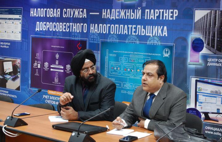 ГНК изучает опыт Индии в применении ИКТ в налоговой сфере