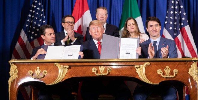 США могут ратифицировать соглашение USMCA до конца июля