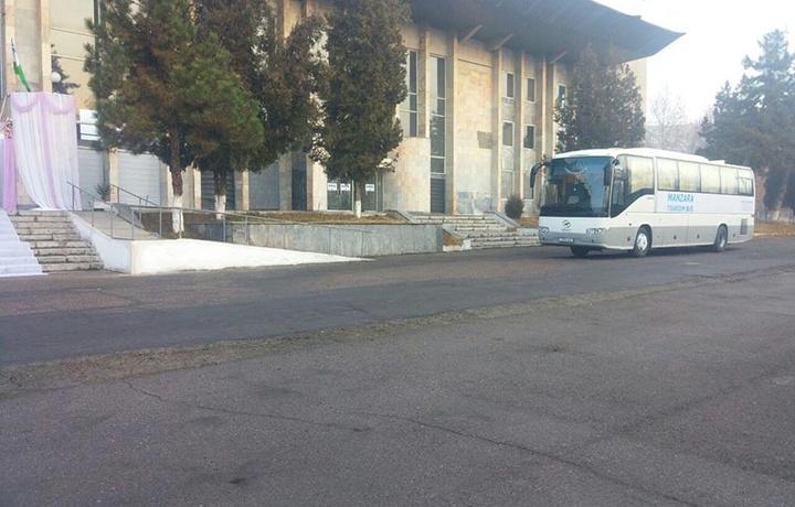Тошкентдан Чимкентга биринчи автобус жўнаб кетди