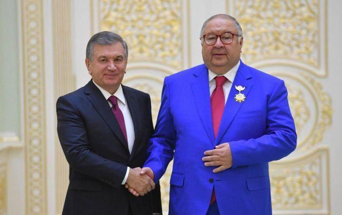 Алишер Усмонов: «Шавкат Мирзиёев Марказий Осиёга тинчликни қайтарди»