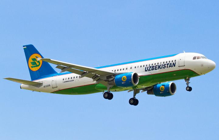 «Узбекистон хаво йуллари» начала выполнять регулярные рейсы в Тбилиси