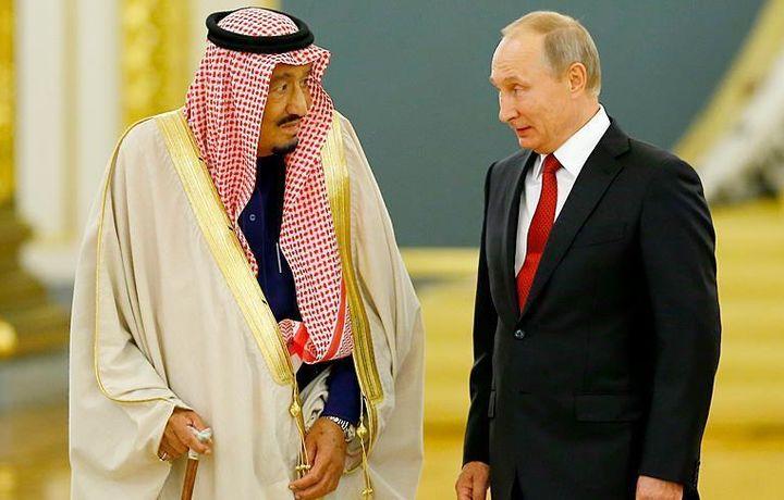 Путин и король Салман обсудили дело Кашикчы