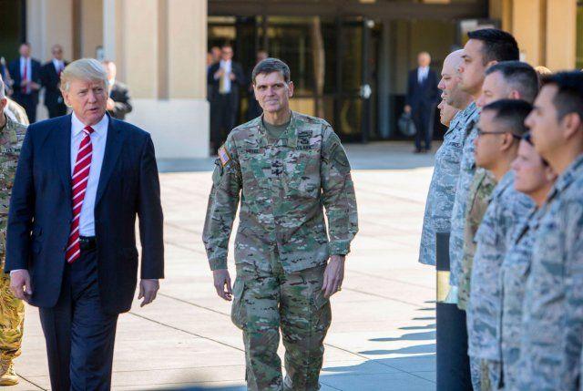 Трамп АҚШ ўз армиясидан фойдаланишга мажбур бўлмаслигига умид қилмоқда
