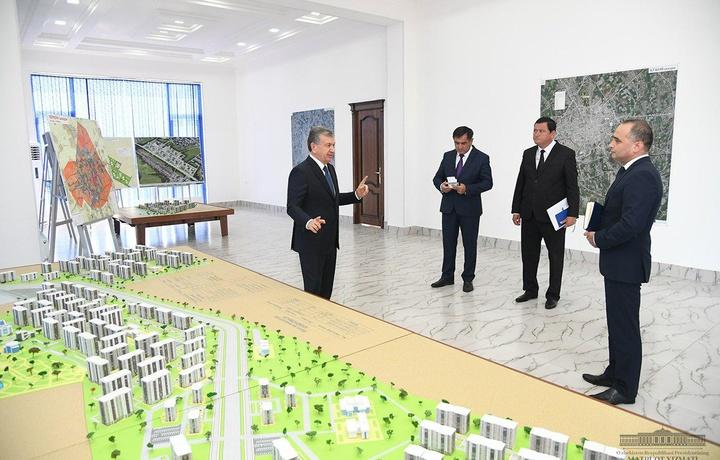 Shavkat Mirziyoyev: «Aholi qachon qaysi hududda qurilish bo'lishini bilsin»
