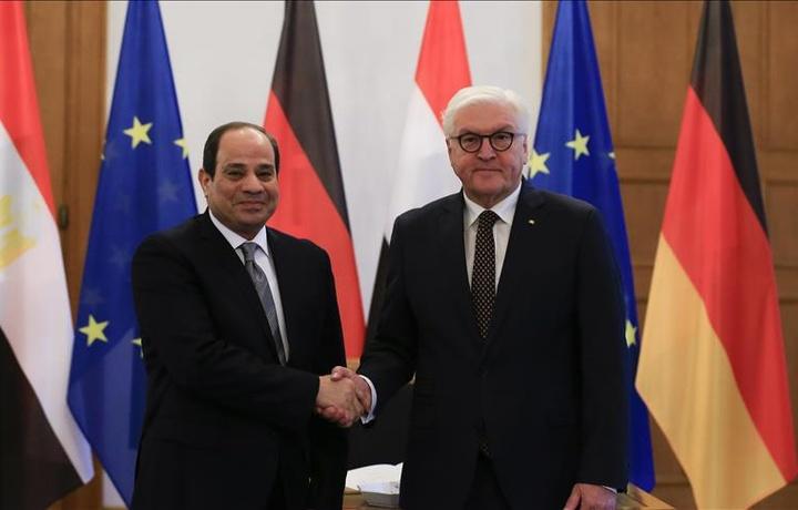 В Берлине прошла встреча президентов Германии и Египта