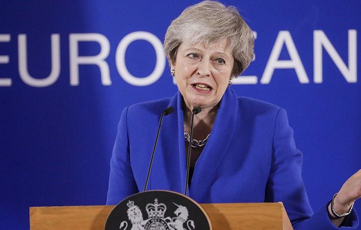 Мэй отменила голосование об условиях Brexit