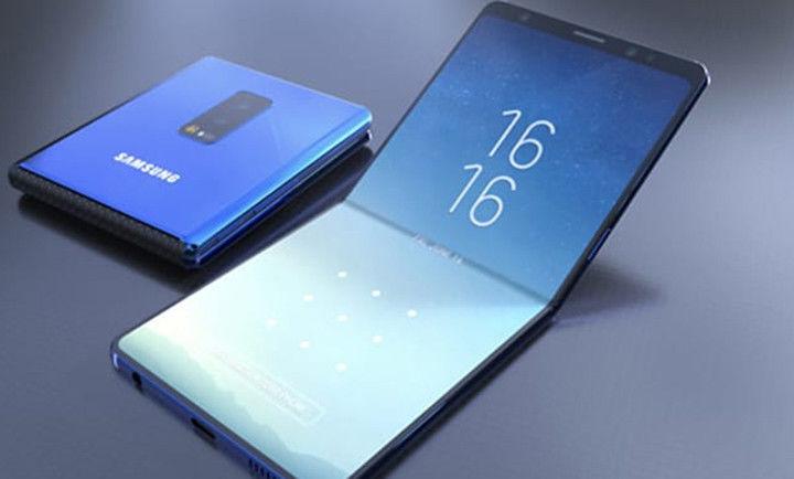 Складной смартфон Samsung получит 7,3-дюймовый экран (фото)