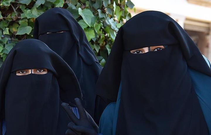 В Дании запретят никаб и паранджу