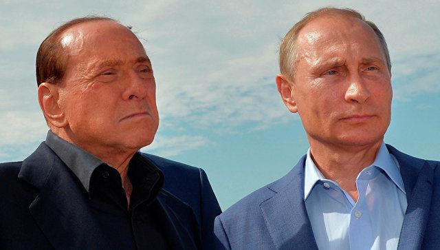 Италия собиқ бош вазири Путин туғилган кунига боради