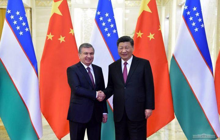 Shavkat Mirziyoyev Xitoy Xalq Respublikasi raisi bilan uchrashdi