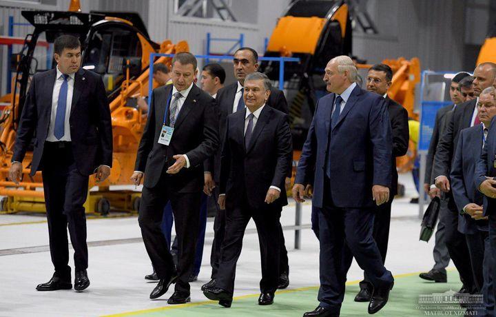 Mirziyoyev va Lukashenko yangi qo'shma korxonani ochishdi