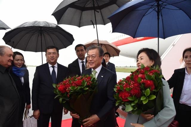 Корея Республикаси Президенти Самарқандга келди