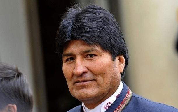 Боливия президенти Эво Моралес тонгги соат 5:00 да ўтказилган йиғилиш сирини очди