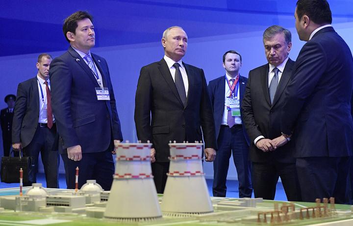 Ўзбекистондаги биринчи АЭС қурилишига старт берилди