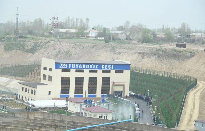 Мустақил Ўзбекистон тарихида биринчи ГЭС фойдаланишга топширилди