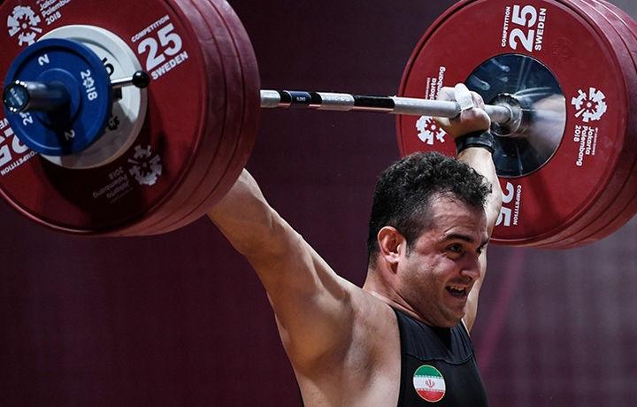 Иранский штангист Моради выиграл ЧМ по тяжёлой атлетике