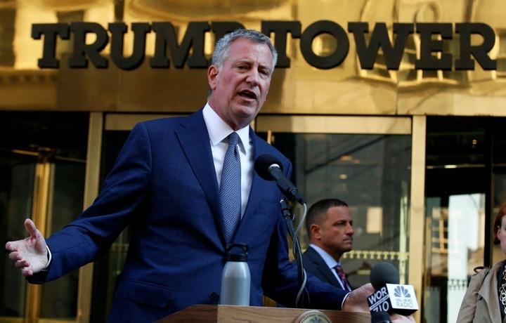 Мэр Нью-Йорка заявил об участии в выборах президента США