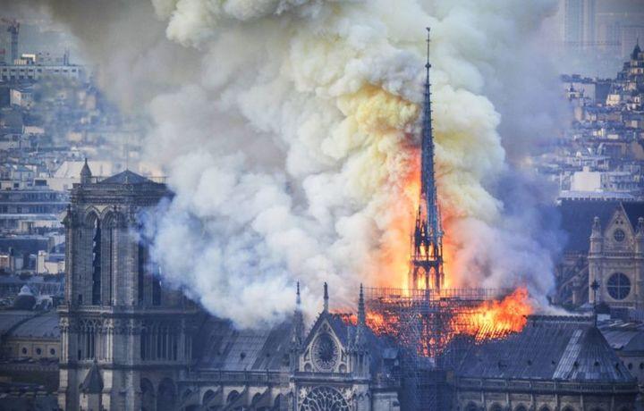 Видеоигры помогут восстановить сгоревший Собор Парижской Богоматери (Нотр-Дам)