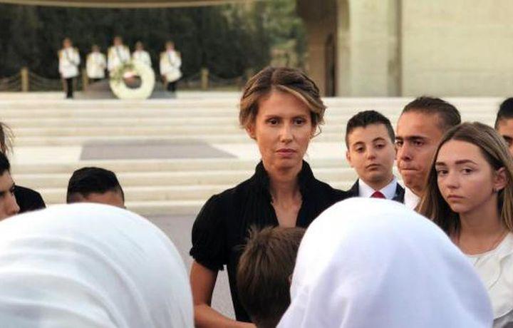 Врачи нашли рак у жены Башара Асада