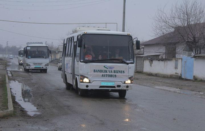 «Бизнес автобус»да жиззахлик касб-ҳунар коллежи битирувчиларининг бандлиги таъминланди