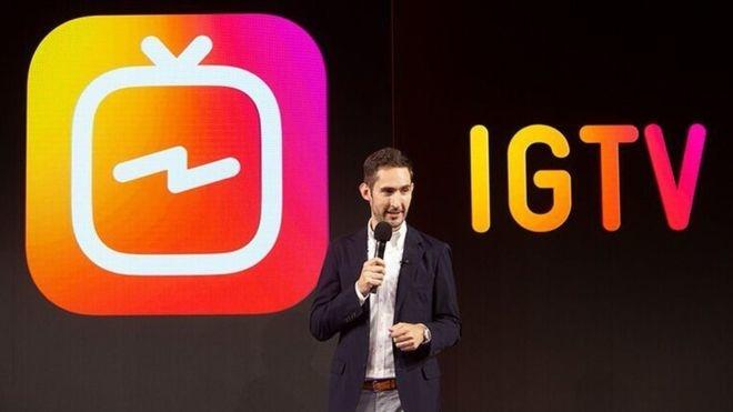 «Instagram» видеоблогга айланади