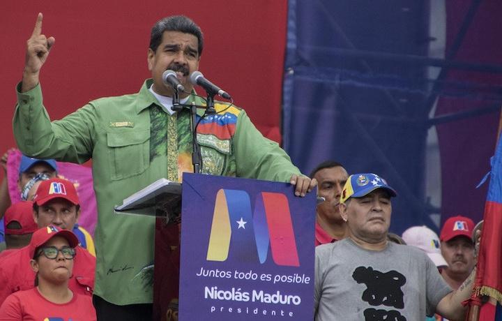 Диего Марадона высказался в защиту Мадуро (фото)