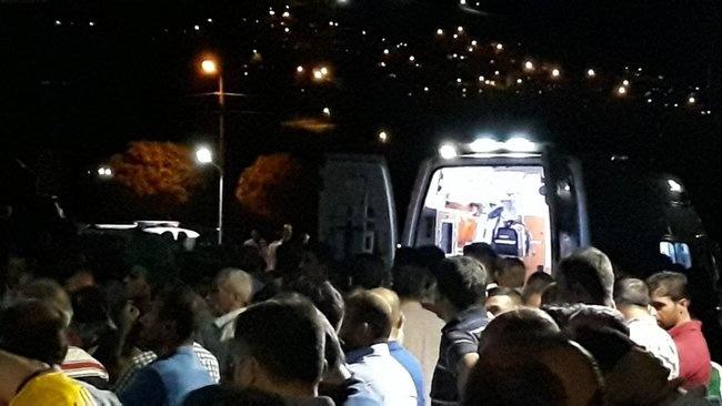 Turkiyada ishchilarni olib ketayotgan avtobus portladi