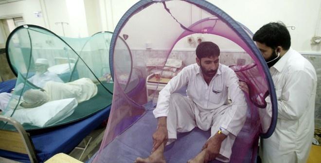 Более 10 тысяч человек заболели лихорадкой денге в Пакистане