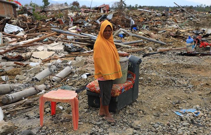Землетрясение произошло у берегов Индонезии