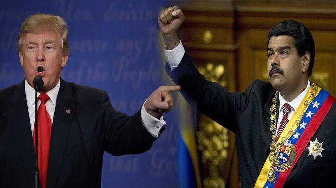 Трамп Венесуэла ҳукуматига қарши иқтисодий санкциялар қўллашни бошлади
