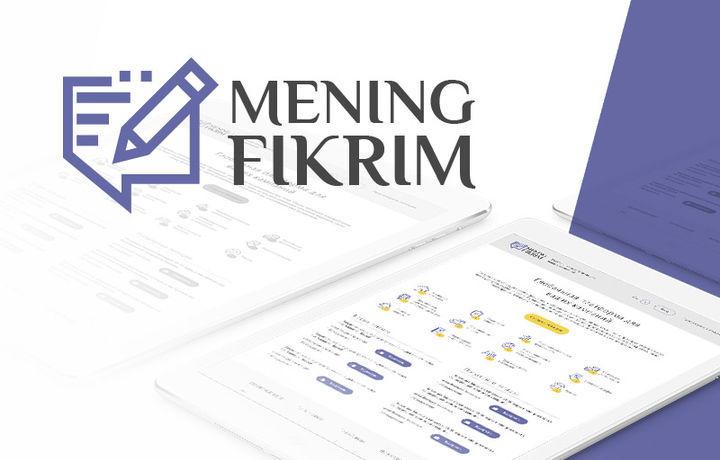 «Mening fikrim» портали авторизациясига «Facebook» профили ҳам қўшилди