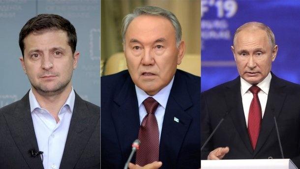 Nazarboyev Putin va Zelenskiyga Qozog'istonda uchrashishni taklif qildi