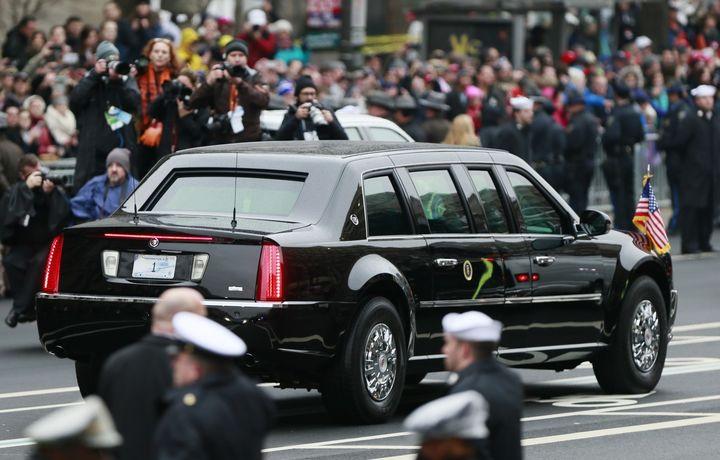 Трамп показал Ким Чен Ыну свой «кадиллак»